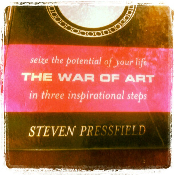 war of art The Artists Life [Excerpt]